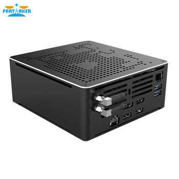 цена на Partaker B18 DDR4 Coffee Lake 8th Gen Mini PC Intel Core i9 8950HK 32GB RAM Mini DP HDMI WiFi