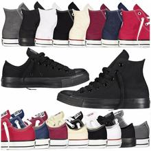 Мужская обувь унисекс; аутентичная Классическая Дизайнерская обувь Allstar ChuckTaylor Ox; Повседневная парусиновая обувь с низким берцем; женские спортивные кроссовки