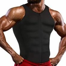 Workout Shirt Tank-Top Sauna-Suit Thermal-Underwear Waist-Trainer Belly Vest Body-Shaper
