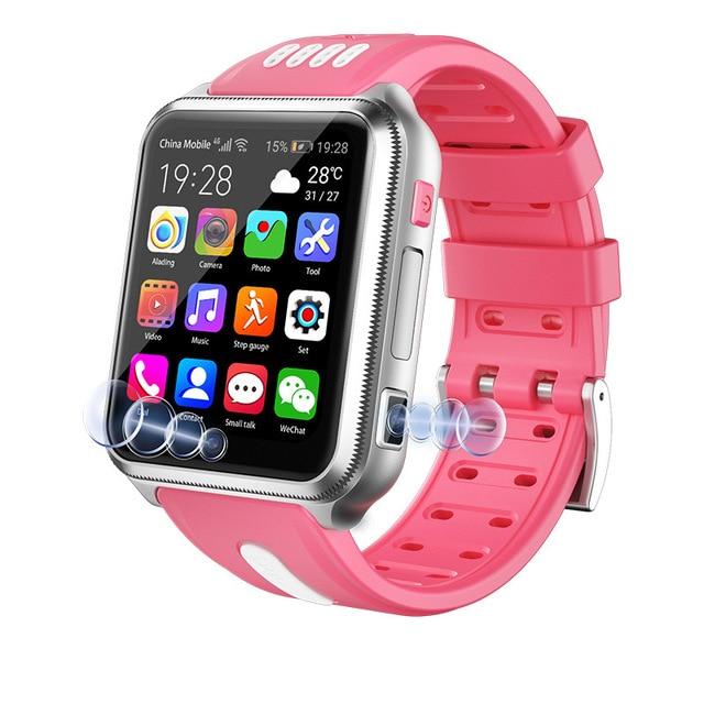4G детские Студенческие умные часы с GPS, умные часы для телефона Android с Sim картой и TF картой, двойная камера, Wi Fi, Google Play, часы H1