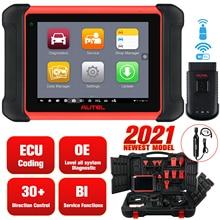 Autel MaxiCom MK906BT PRO ECU Coding Super Tablet Scanner Diagnostic Tool MS908P OBD2 Car Accessories Wireless Bluetooth+MV108
