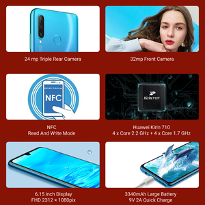 Image 2 - Huawei P30 Lite 4GB 64GB Smartphone Global Version 6.15 inch NFC with Google Play Mobile phone OTA Update Android 9 24MP Camera