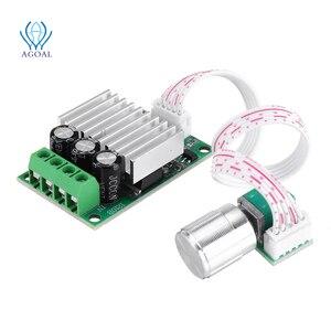 Image 2 - تيار مستمر 12 فولت إلى 24 فولت 10A عالية الطاقة PWM وحدة تحكم في سرعة محرك التيار المستمر تنظيم سرعة درجة الحرارة و يعتم سرعة تنظيم لوحة صغيرة