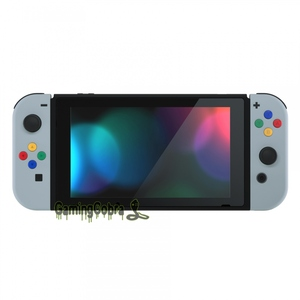 Image 5 - New Hope Gray Soft Touch Controller Housing With Colorful Buttons Replacement Shell with Tools for NS Switch Joy Con
