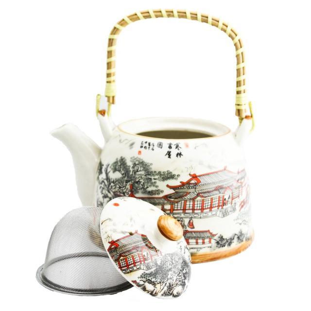 чайник заварочный стекло чай пуэр окрашенные горшки чайники для гостиной чайники с рисунками Случайных Узоров