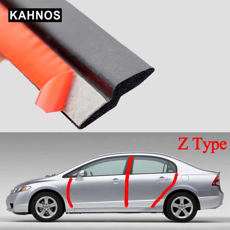 2-8M joint Z Type joint de porte de voiture isolation phonique joint d'étanchéité bande de caoutchouc garniture Auto joints en caoutchouc joints en forme de Z pour les voitures