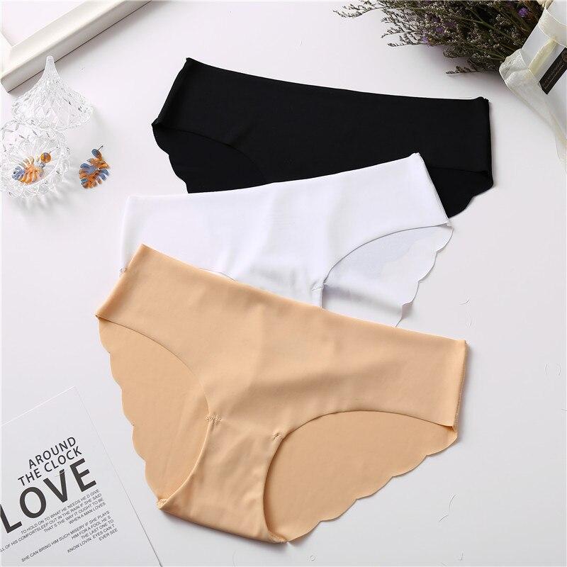 FINETOO Panty-Set Lingerie Briefs Intimates Underwear Female Seamless Fashion Ladies
