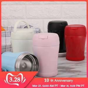Lunch-Box Containers-Insulation Vacuum-Flask Food-Soup-Containers Leakproof Portable