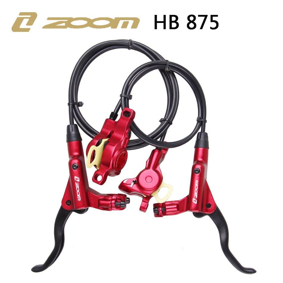 줌 HB-875 자전거 자전거 mtb 유압 브레이크 마운틴 800mm * 1400/1450/1550mm mt315 mt200 m615 m447 오일 압력 디스크 브레이크