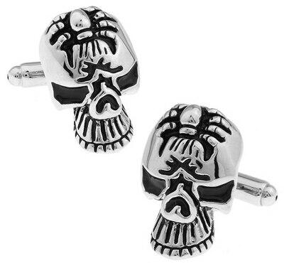 Free Shipping Skull Cufflinks 28 Vintage Skeleton Designs Men's Designer Cuff Links Wholesale&retail 1