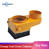 Dust Collector 65/70/75/80/85/90/100mm  Dust Cover Brush  Diameter for CNC Spindle  Milling Machine Router Tools