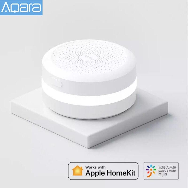 2021 Aqara M1s концентратор шлюз Zigbee 3,0 с цветовой моделью RGB светодиодный ночной Светильник для Mi Home приложение Apple Homekit Aqara Smart APP