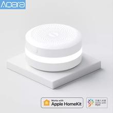 2021 Aqara M1s Hub ağ geçidi Zigbee 3.0 RGB için Led gece lambası Mi ev APP Apple Homekit Aqara akıllı app