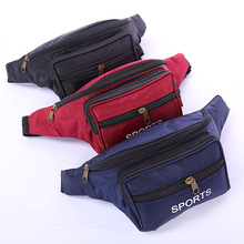 Women Men Casual Sport Waist Bags Cheap Fashion Fanny Pack Colorful Unisex Outdoor Zipper Multifunctional Phone Belt Bag