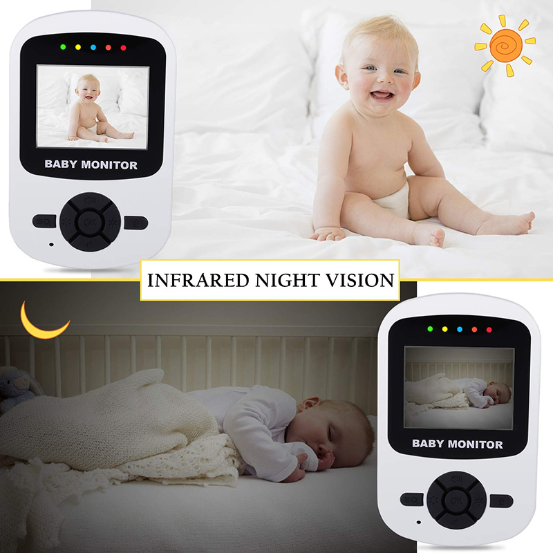Image 5 - Neng Wireless 2.8inch Lcd Audio Video Baby Monitor Radio Nanny Music Intercom  24H Portable Baby Camera Baby Walkie Babysitter-in Baby Monitors from Security & Protection