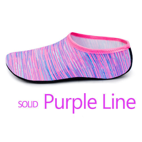 Purple lines sock