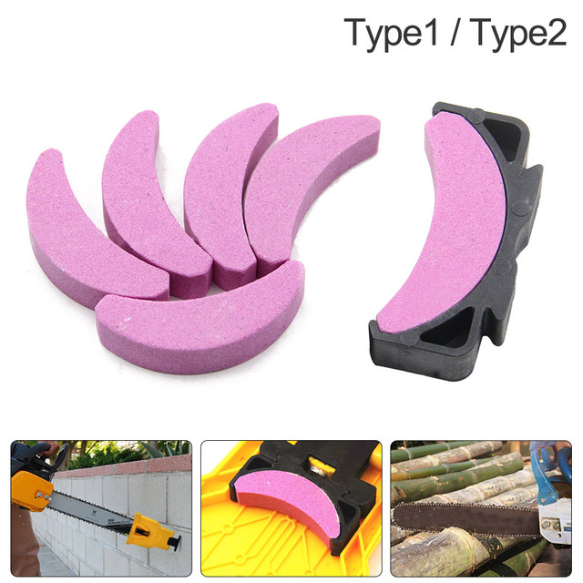 Affûteur avec pierre à affûter à chaîne, avec support, accessoires, scies à chaîne pour affûtage du bois