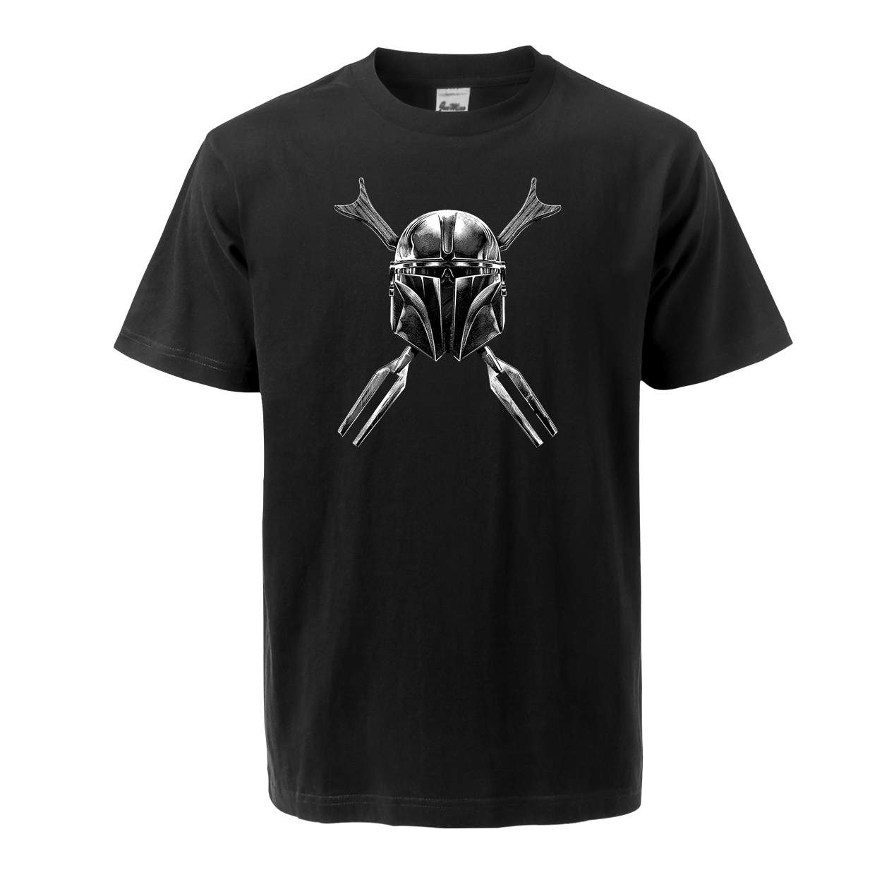 The Mandalorian Star Wars Men T Shirts 2020 Summer Tops Tees 100% Cotton Short Sleeve Bounty Skull Streetwear Crew Neck T-shirts