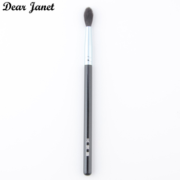1 pc Highlighter Makeup brushes Eye blending Make up brush eyeshadow crease Cosmetic tool squirrel hair wood handle high quality