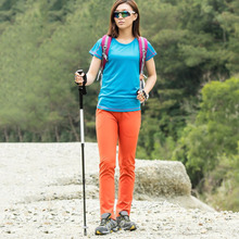 Pants Wear for Outdoor-Sports Three-Seasons Sweat-Wicking Great Quick-Drying Warm High-Elasticity