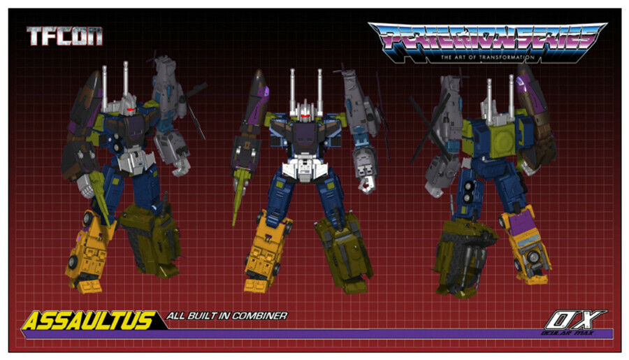 IN STOCK transforms Ocular Max MMC OX PS-15 Fraudo G1 Bruticus Mp Scale