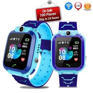 Image 4 - 5 أجيال الأطفال ساعة ذكية للأطفال دراسة اللعب شاشة تعمل باللمس SmartWatch في الهواء الطلق تعقب SOS رصد تحديد المواقع ساعة