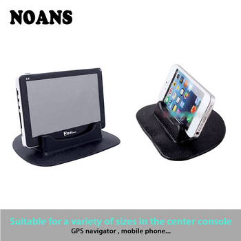 NOANS Anti-Slip Mat Car Rubber Multi-Functional Dashboard Phone Shelf For BMW E36 F30 F10 E30 M X5 Ssangyong Volvo XC90 V70 XC60 image