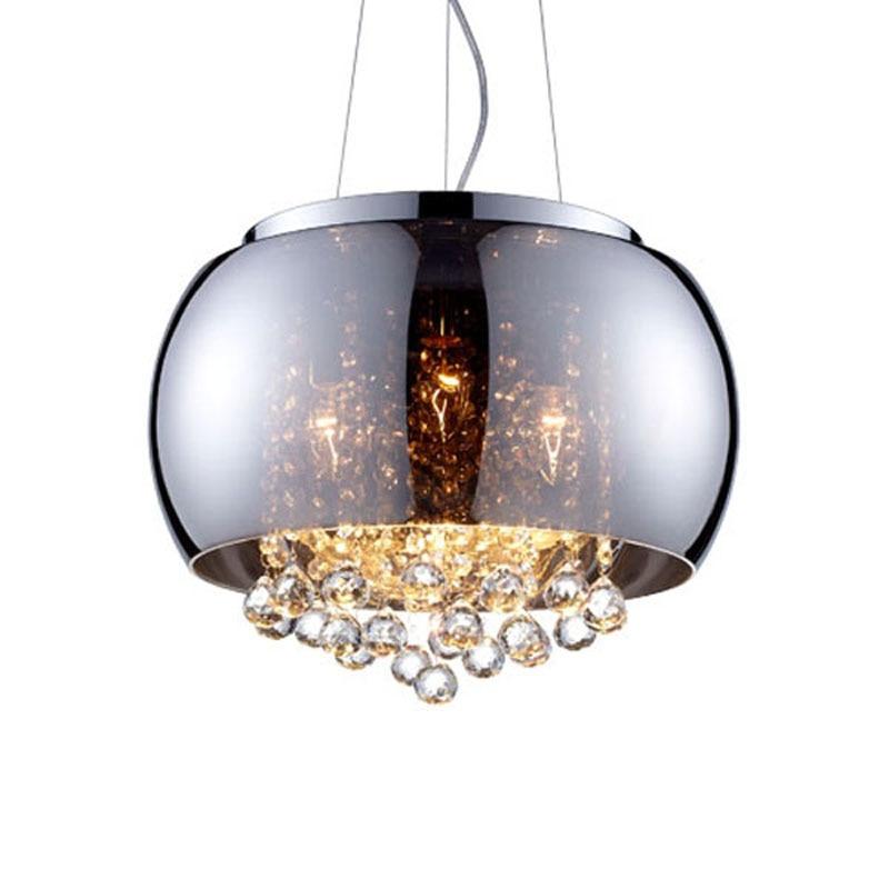 Nordic Modern Chandeliers Ceiling Crystal Hanging Pendant Lamp Living Room Light Fixtures Glass Home Deco Lighting Fixtures