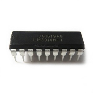 10pcs/lot LM3914N-1 LM3914-1 LM3914N DIP-18 In Stock