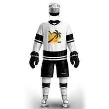 Practice-Jerseys Ice Hockey Cheap COLDOUTDOOR Black White with Logo Grey Sport Vintage