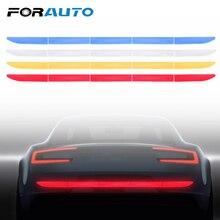 FORAUTO Светоотражающая наклейка для автомобиля багажник Авто Предупреждение Стикеры полосы нано лента для безопасности во время движения анти-столкновения автомобиля-Стайлинг 4 цвета