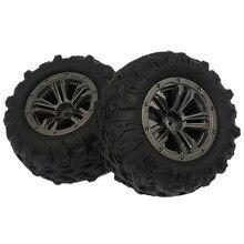 Комплект 4 радиоуправляемых колесных шин для игрушечного автомобиля, улучшенная деталь шин для XINLEHONG Q901, Q902, Q903