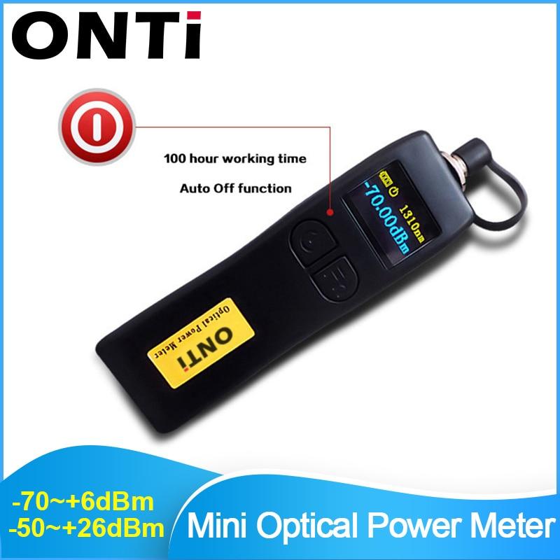 ONTi -70~+6dBm And -50~+26dBm Handheld Mini Optical Power Meter