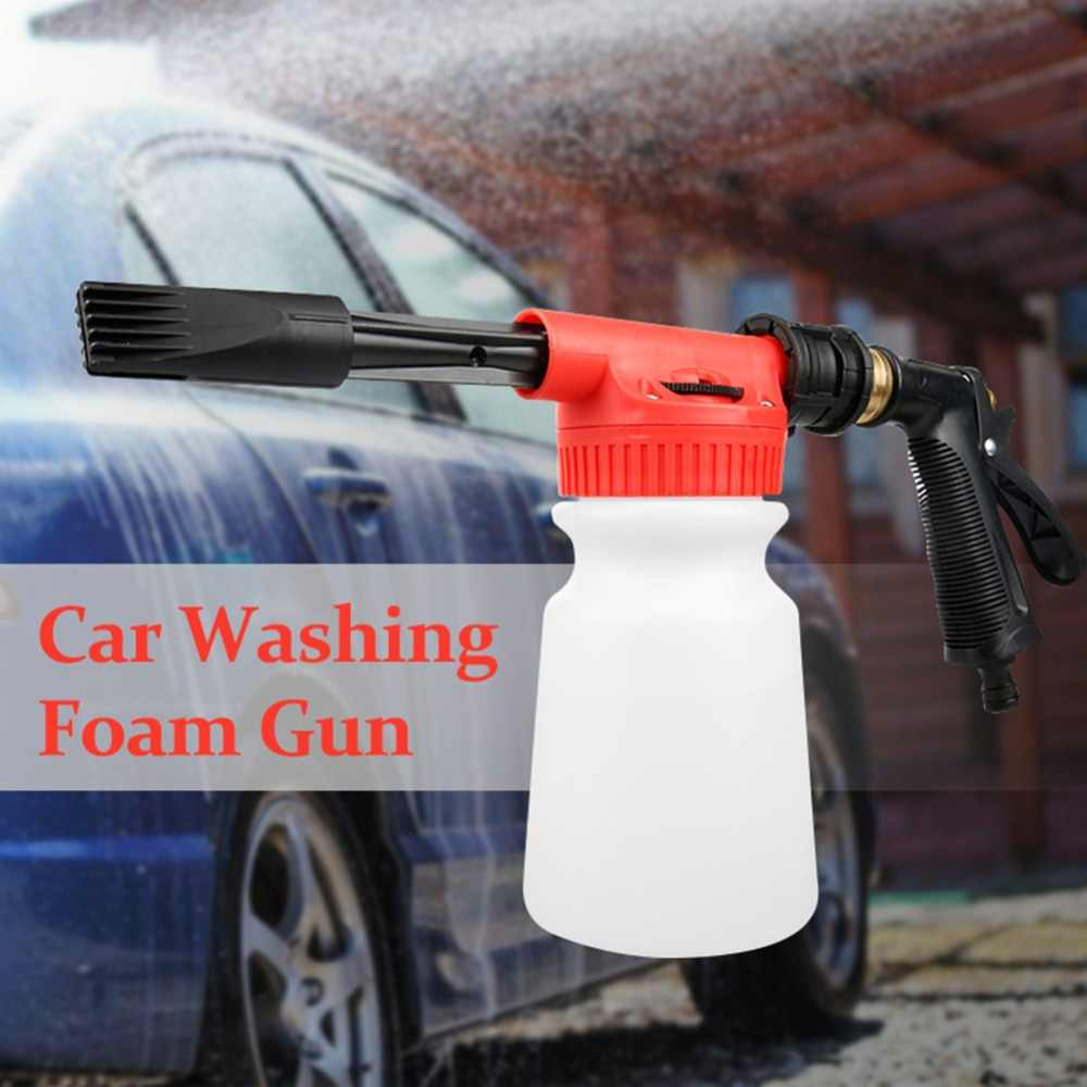 900ml Hoge Druk Sneeuw Foamer Waterpistool Beroep Pistool Gar Schoonmaken Pistool auto tool Auto Water Zeep Shampoo Spuit
