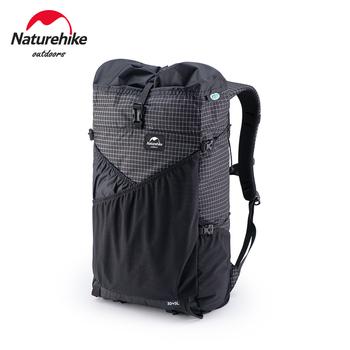 Naturehike 30L Ultralight X-PAC plecaki wodoodporne torby sportowe torby wspinaczkowe odporność na rozdarcie na zewnątrz Camping tanie i dobre opinie CN (pochodzenie) NH19BB089 Unisex Backpacking Miękka Other Black X-PAC Dyneema 80x35x4cm 12kg 165cm-175cm 0 6kg 60x30x20cm