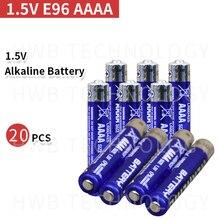 20 шт 1,5 V E96 AAAA основная щелочная батарея сухая батарея лазерная ручка, Bluetooth гарнитура батарея