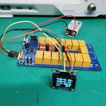 Diy-Kits Tuner OLED Firmware Automatic-Antenna Soldered ATU-100 N7DDC by 7x7 Smd/chip