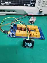 ATU-100 zestawy DIY 1.8-50MHz ATU-100mini automatyczny Tuner antenowy N7DDC 7x7 + OLED, oprogramowanie układowe zaprogramowane/SMD/Chip lutowane