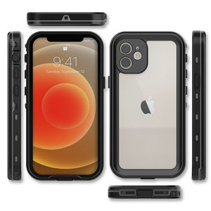 Image 3 - Waterproof Case 360 Protect for Apple iPhone 12 Pro Max Case Hard PC Water Proof Cover for iPhone 11 Xr Xs X iPhone12 Mini Coque