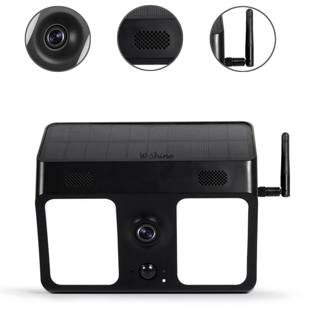 2 In 1 LED Solar Light WiFi Camera HD 1080P Security IP Camera Outdoor Solar Lamp Pir Motion Sensor Detection Surveillance