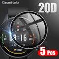 20D Gebogene Rand Vollen Weichen Schutzhülle Film Abdeckung Für Xiaomi Mi Uhr Farbe Globale Version Smart Uhr Screen Protector (nicht Glas