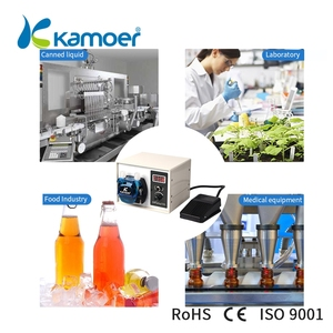 Image 5 - Kamoer High Flow 24V DC DIP Intelligent Power Off Memory Peristaltic Pump With Silicone Tube For Liquid Dispenser Food Industry