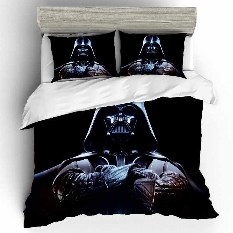 Star Wars Bedding Sets Duvet Cover Single Queen King Size Home Textile Bedding Set Bed Sheets Pillowcases Bed Linen Edredon