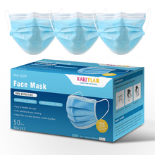 1/5/10/20/50Pcs Dustproof Medical Protective Cover Masks 3 Layers Anti-Dust Disposable Surgical Mask White/Pink/Blue/Purple