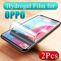 Pellicola salvaschermo per OPPO Reno 3 4 Pro Z 2Z Ace 2 HD pellicola protettiva morbida in idrogel per Realme 6Pro X50 5Pro X7 X2 Pro Lite Q V5
