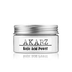 AKARZ znane marki czysta 99.9% kwas kojowy noc kremy pochodne hamowanie melaniny podwójne palmitynian wybielanie stabilność 25g
