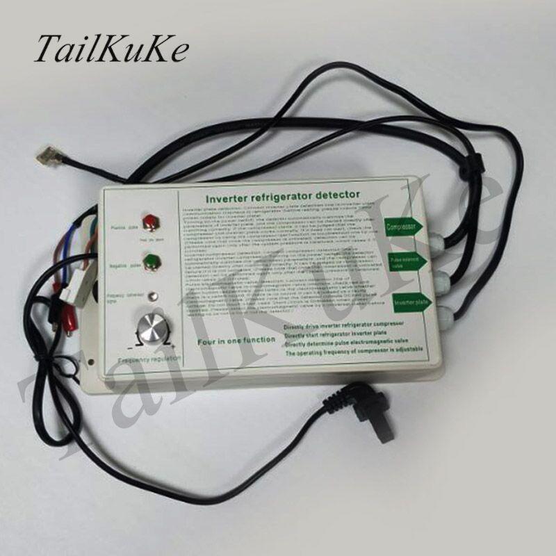 Четыре в одном холодильник тестер преобразователь частоты пластина импульсный электромагнитный клапан для холодильного компрессора|Запчасти для кондиционера|   | АлиЭкспресс