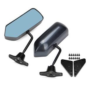 Image 2 - Автомобильное левое и правое зеркало заднего вида, автомобильное внешнее крыло, верхнее гоночное боковое зеркало для BRZ Scion FR S 86 Mustang, Автомобильное зеркало заднего вида
