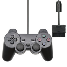 Mando con cable USB para PS2, Mando para Playstation 2, accesorio para consola