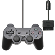 For PS2 Wired USB PC Game Controller Gamepad Manette For Playstation 2 Controle Mando Joypad For playstation 2 Console Accessory